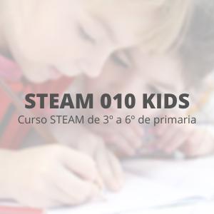 STEAM 010 Kids - Curso completo 4 meses.